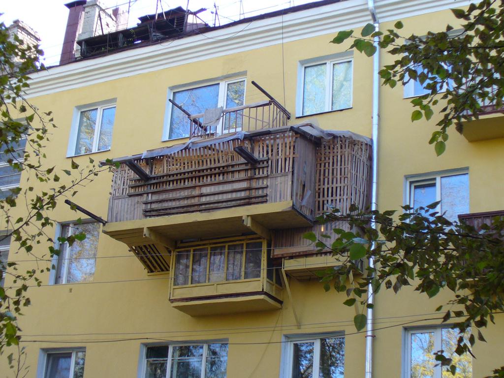 Можно ли пристроить балкон. - фото отчет - каталог статей - .